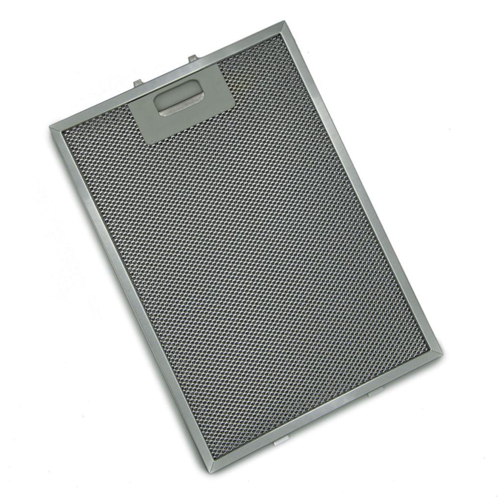 Filtro in alluminio con cornice