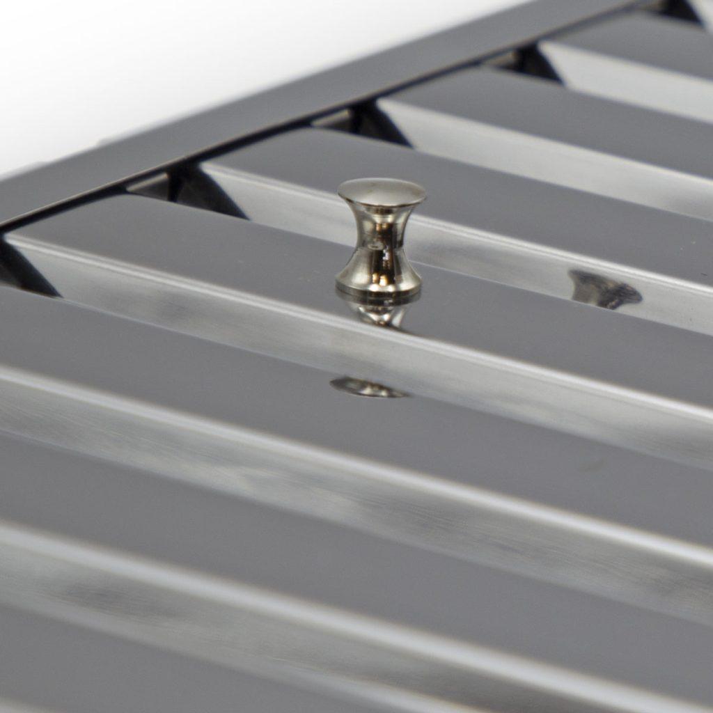 Filtro professionale baffle a labirinto in acciaio inox AISI 304 o 430